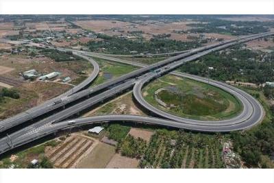 Pano cao tốc Bến Lức - Long Thành